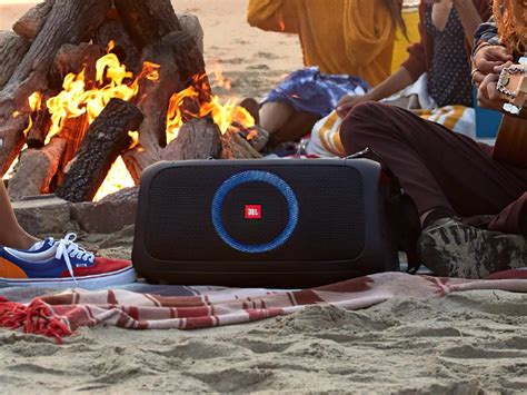 JBL PartyBox On-The-Go portable party speaker has