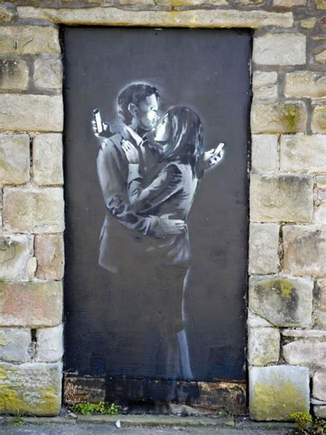 Banksy's Mobile Lovers: Youth club owner who sold artwork