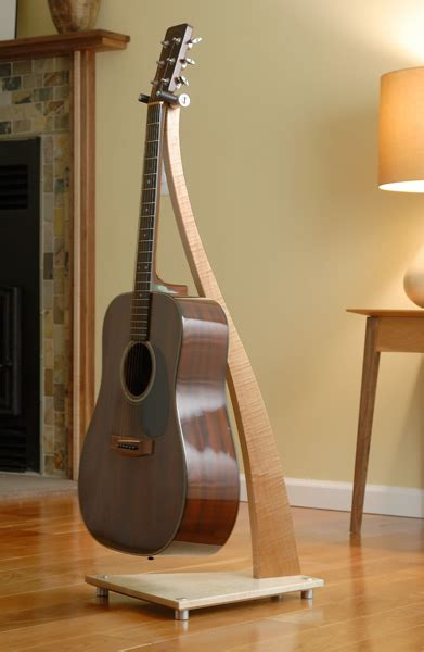Wood Guitar Stands by Take a Stand