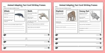Adaptation KS2 - Resources and Worksheets - Primary Resources