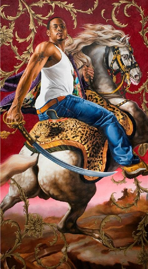 You can see the Kehinde Wiley painting featured on 'Empire