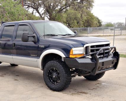 1999-2004 Super Duty Front Heavy Duty Replacement Bumpers