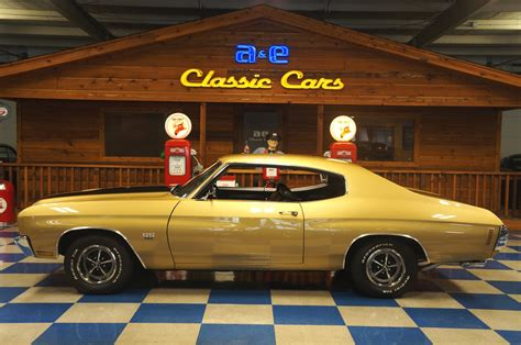 1970 CHEVROLET CHEVELLE SS396 – CHAMPAGNE GOLD / BLACK – A