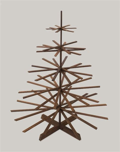If It's Hip, It's Here (Archives): Modern Wood Christmas