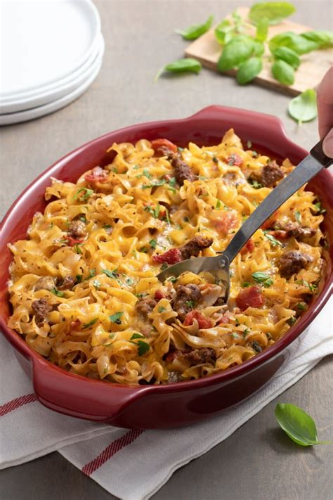 Ground Beef Casserole - Cook the Story