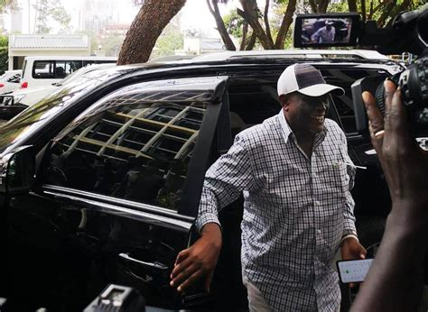 Jubilee Party Vice Chair David Murathe at EACC for