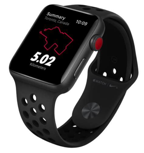 Apple Watch Nike+ Series 3 Now Available in Canada