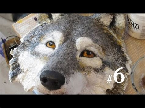 Jonni Good's Wolf Mask is Done - YouTube