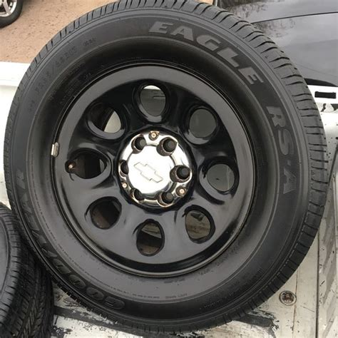 """*NEW* CHEVY TAHOE POLICE PPV HD 17"""" WHEELS & TIRES for"""