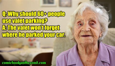 100+ Old People Jokes That Are Damn Hilarious - Comic