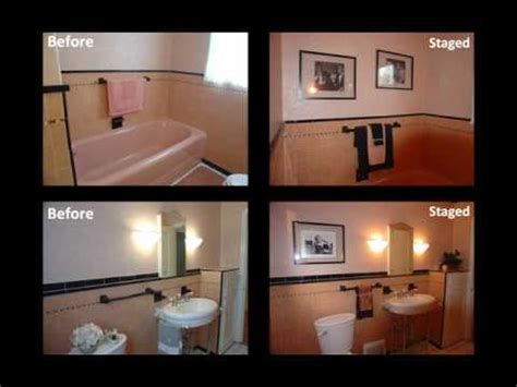 Home Staging Tips: Dated Bathrooms - YouTube