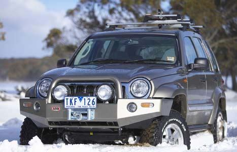 Jeep Liberty Bumpers Body Armor and Accessories