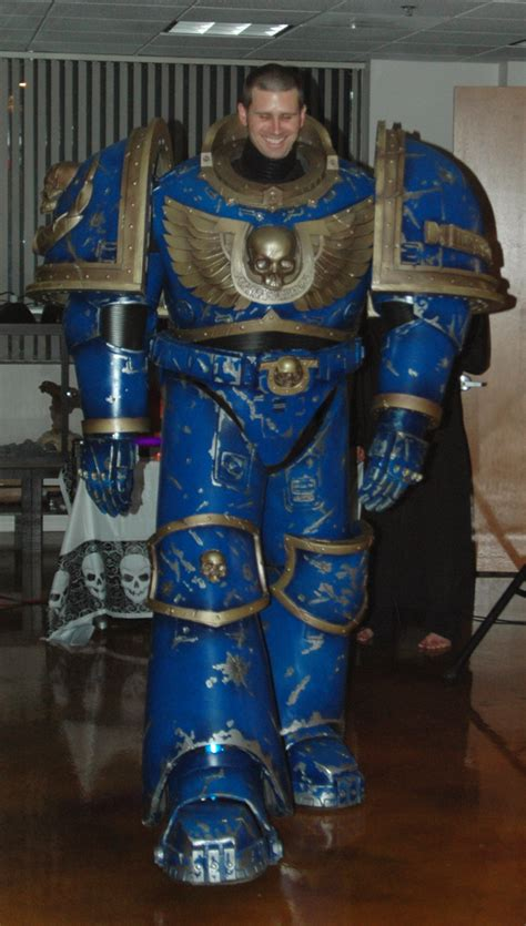 Warhammer 40K Space Marine Full Scale - New at this (WIP